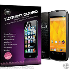 5 Pack High Quality Excellent Scratch Screen Protector for LG Nexus 4