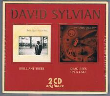 DAVID SYLVIAN BRILLIANT TREES / DEAD BEES ON A CAKE BOX 2 CD F.C. SIGILLATO!!!