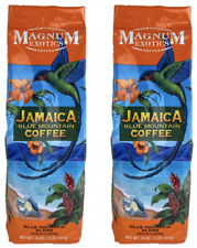 2 Bags Magnum Jamaican Blue Mountain Blend Ground Coffee Cafe Black 1Lb 16oz