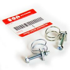 DOUBLE WIRE HOSE CLAMP 1/2in to 3/4 for Suzuki rubber lines hoses fuel 12mm-18mm