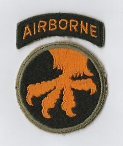 WWII - 17th AIRBORNE DIVISION (Original patch) # 2