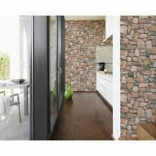 NEW AS CREATION STONE WALL PATTERN RUSTIC BRICK TEXTURED MURAL WALLPAPER 692412