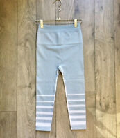 NEW Free People Movement Seamless Crop leggings in Blue/Grey Sz XS/S $97.12