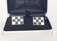 Onyx and Mother of Pearl cufflinks,Mens Cufflinks,Father of the bride cufflinks