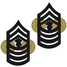MASTER GUNNERY SERGEANT MGYSGT E-9 HAT PIN INSIGINIA RANK AUTHENTIC US MARINES