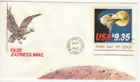 SSS: House of Farnam FDC 1983 $9.35 Express Mail Eagle  Sc #1909