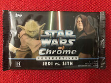 Star Wars Chrome Perspectives Jedi Vs Sith 6 Trading Card Pack Topps