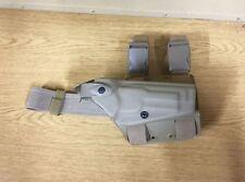 GENUINE US ARMY SAFARILAND 6004 LEG HOLSTER M9/M9A1 FLAT DARK EARTH NEW !!!