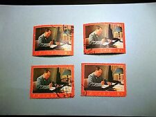 PR China Stamps PR China W7 Chairman Mao Poems Culture Revolution 9 CTO +6 used
