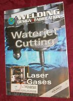 Welding Design & Fabrication  Magazine (June 2002),  English, Back Issue