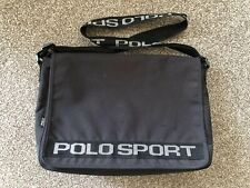 VINTAGE RALPH LAUREN POLO SPORT MEDIUM/LARGE MESSENGER / LAPTOP BAG USED