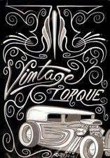 VINTAGE TORQUE DVD 2 TRADITIONAL CARS & ART HOT RAT ROD VIDEO MAGAZINE CUSTOM