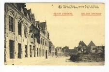 AK Ypres, Ypern, 1 WK 1918, Werbung: Elixir d´Anvers