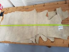 Mottled Cream Beige Cow Side Leather 1.9mm Thick Good Quality Genuine EB78