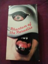 PHANTOM OF THE PARADISE 1988 VHS VERY RARE Brian De Palma, Paul Williams