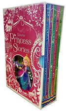 Usborne Princess Stories Children Collection 5 Books Set Cinderella, Frog Prince