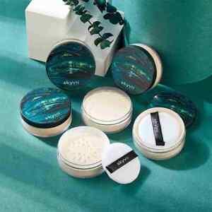 Makeup Powder Loose Powder Face Makeup Waterproof Skin Finish Powder Hot S3H7