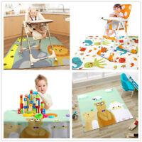 Highchair Baby Splat Floor Mat No Mess Anti Slip Feeding Protector Splash Rugs