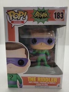 Pop 1966 Classic TV Batman Wave 2 The Riddler #183 Vinyl Figure Funko