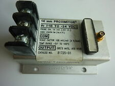 BENTLY NEVADA81725-017200 Series Proximitors 14mm