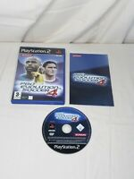 Pro Evolution Soccer 4 (Sony PlayStation 2, 2004) Complete with Manual