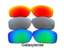 Galaxy Lentes De Repuesto Para Oakley Valve Gafas de sol verde / TITANIO / Rojo