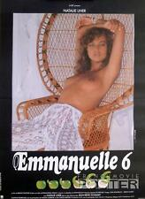 EMMANUELLE 6 - SEXY CULTE / NAKED / X RATED - ORIGINAL SMALL FRENCH MOVIE POSTER