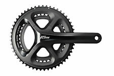 Shimano 105 5800 11 Speed Road Bike Double Chainset 172.5MM 53X39T W/BBR60 Black