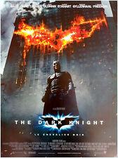 BATMAN THE DARK KNIGHT Affiche Cinéma ROULEE 53 x 40 cm Movie Poster NOLAN BALE