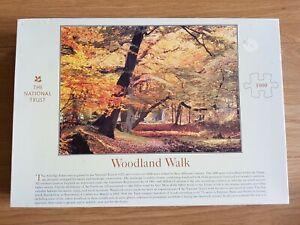 The National Trust Woodland Walk 1000 Piece Jigsaw Puzzle