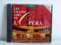 CD ALBUM Compil Disque Pub LA REDOUTE Les grands airs de l opéra FS 0793DP