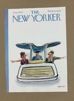 COVER ONLY ~ The New Yorker Magazine, August 1, 1964 ~ Frank Modell