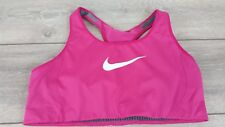Nike Shape Ladies Bra Bustier Sport Fitness Gym Top  Pink XL A352-16