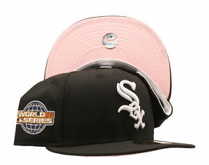 New Era 59Fifty MLB Chicago White Sox 2005 World Series Fitted W/ Pink Bottom