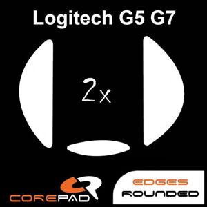 Corepad Skatez Logitech G5 G7 Replacement Teflon® mouse feet Hyperglides