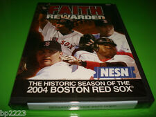 FAITH REWARDED-HISTORIC 2004 BOSTON RED SOX SEASON-DVD, FENWAY FAITHFUL, NEW