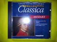 MOZART W. A. - I GRANDI MAESTRI DELLA MUSICA (EDIZIONE DE AGOSTINI). CD.
