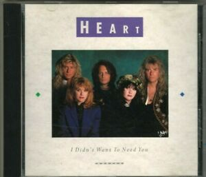 Heart Promo CD I Didn't Want To Need You Radio 1990 DPRO-79073 RARE ANN WILSON