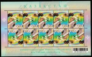 KAZAKHSTAN 2006 EUROPA CEPT INTEGRATION Mi.535KB(II) MNH SHEET, CV 60 EURO