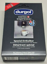 durgol swiss espresso 12 x125 ml. 4 x 3 er Pack  (1000 ml.= 17,30 € )