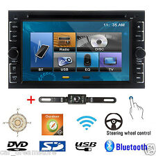 "Double 2Din 6.2"" Car Stereo DVD CD MP3 Player HD In Dash Bluetooth Ipod Radio"