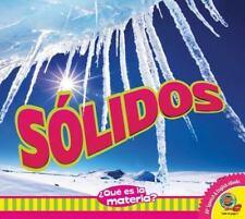 Sólidos / Solids (¿qué Es La Materia?) (Spanish Edition)-ExLibrary