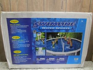 Pool Jam Combo Volleyball/Basketball Set for Above Ground Pools
