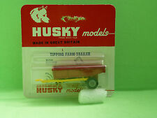 HUSKY MODELS 8 TIPPING FARM TRAILER  SELTEN RARE   IN EXCELLENT CONDITION IN BOX