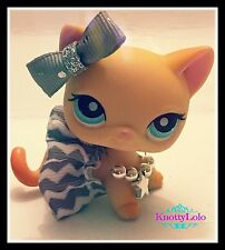 Littlest Pet Shop LPS Accessories Chevron Skirt Necklace Bow PetNot Included.
