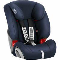 Britax Römer EVOLVA 1-2-3 Group 1-2-3 (9-36kg) Car Seat - Moonlight Blue/black