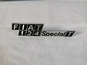 Print Rear Fiat 124 Special T - Original