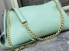 SYDNEY By FOSSIL - Mint Green Pebble Leather Convertible Shoulder Bag