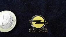 Opel Import Pin Badge Frankreich Autohaus Pigeon Logo Emblem selten rar