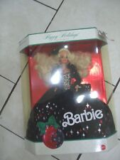 1991 Happy Holidays Barbie Special Edition W/Ticket  RARE